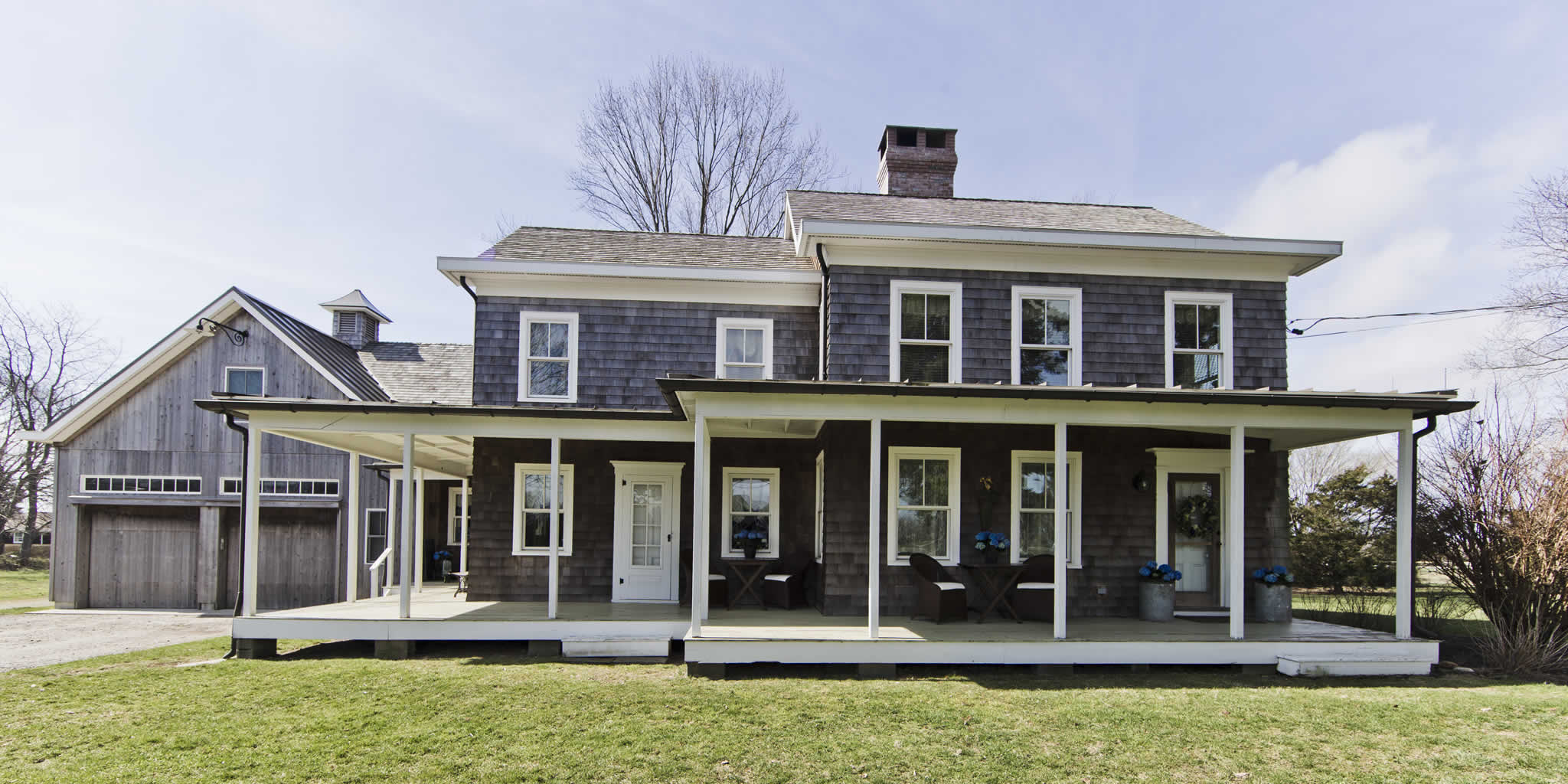 The farmhouse bed and breakfast located on the north fork for Farm house